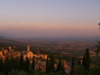 Blick über Assisi ins Tal